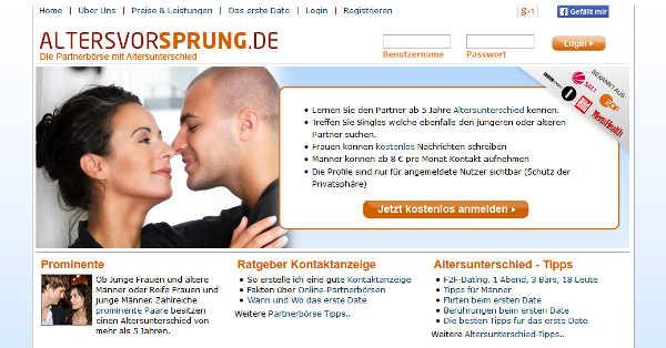 Was ist ein akzeptabler Altersunterschied für Dating